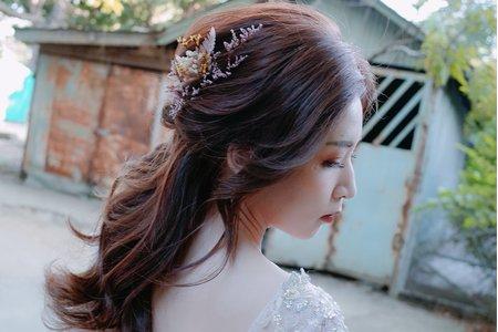 自助婚紗 / 造型師側拍 / 新秘 Hsaun 曉璇 / 精緻妝容