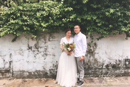 自助婚紗側拍紀錄 / Emily Tsai 美妝造型團隊-曉璇