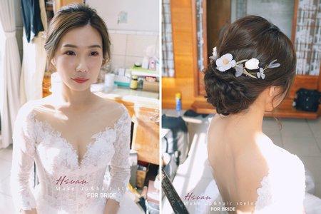 結婚迎娶白紗造型