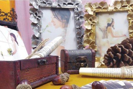 經典復古 婚禮小物佈置