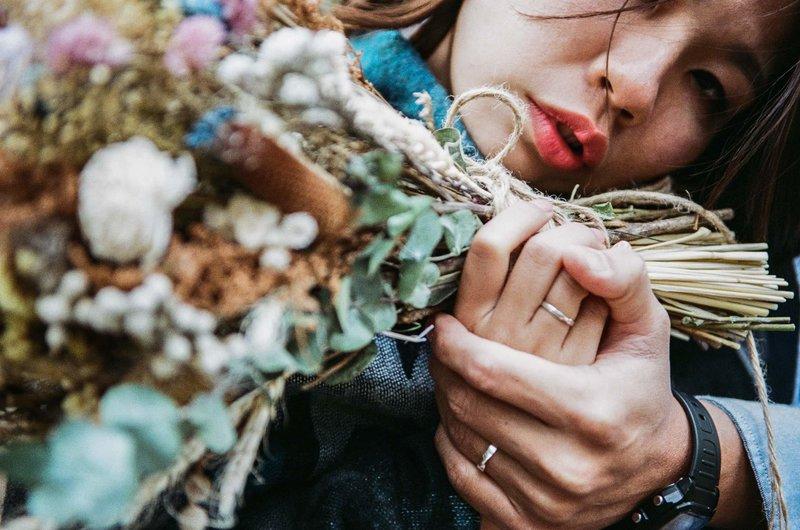 手作乾燥不凋花束🌸🍃手挽花🌷胸花