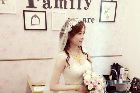 新娘婚宴髮妝整體造型