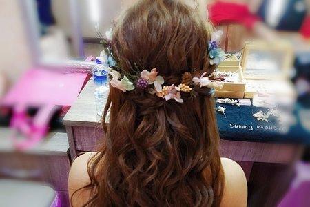 Bride佳玟~Sunny婚禮美妝質感造型設計