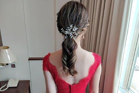 Bride馨湘~Sunny婚禮美妝質感造型設計