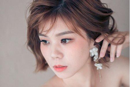 Sunny婚禮髮妝質感造型設計