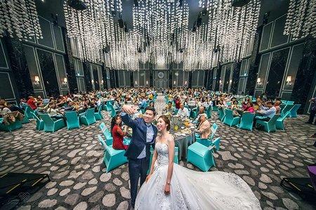 南部婚攝推薦 | 高雄台鋁晶綺盛宴 | 啟文 + 珍妮