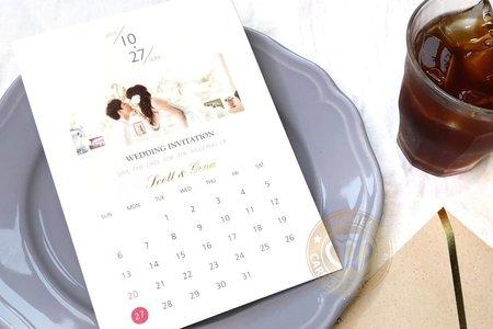 S9005《美好的一天》韓風喜帖