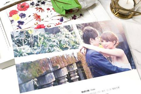 P7532《WEDDING NEWS》歐美婚報三折式喜帖