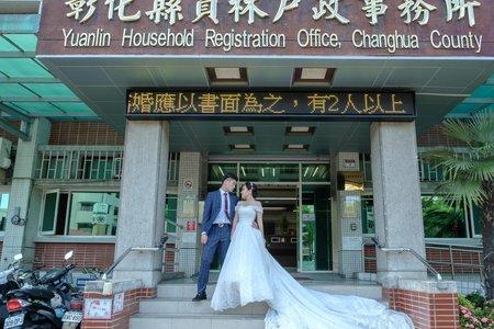 尚謙 靖雯 結婚
