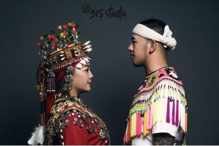 台灣原住民婚紗