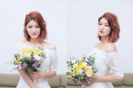 新娘短髮編髮造型 優雅氣質髮型推薦