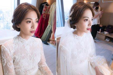 新娘秘書髮型 台北市凱達飯店婚宴儀式