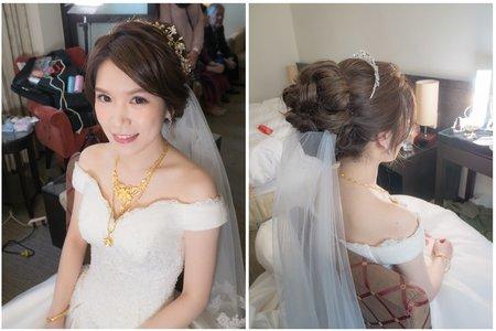 新娘宴會髮型 白紗造型