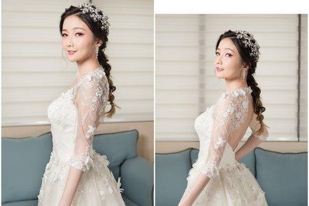 乾燥玫瑰妝 甜美公主式編髮