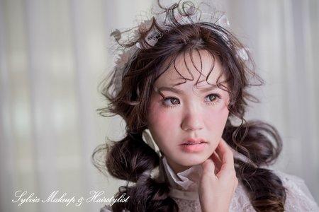 新娘妝髮2造型