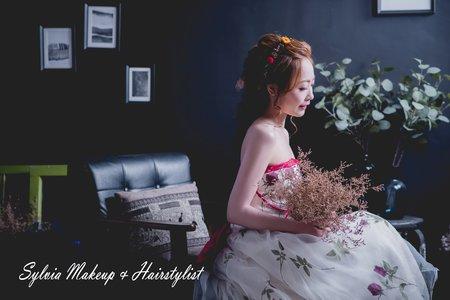 新娘妝髮單造型