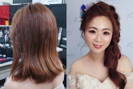 短髮變換造型