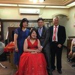 漾時尚婚禮整體造型總監蘇紹菲,化妝很好看 人也不錯