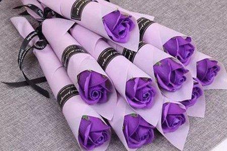 婚禮二進小禮物-精緻手工玫瑰香皂花