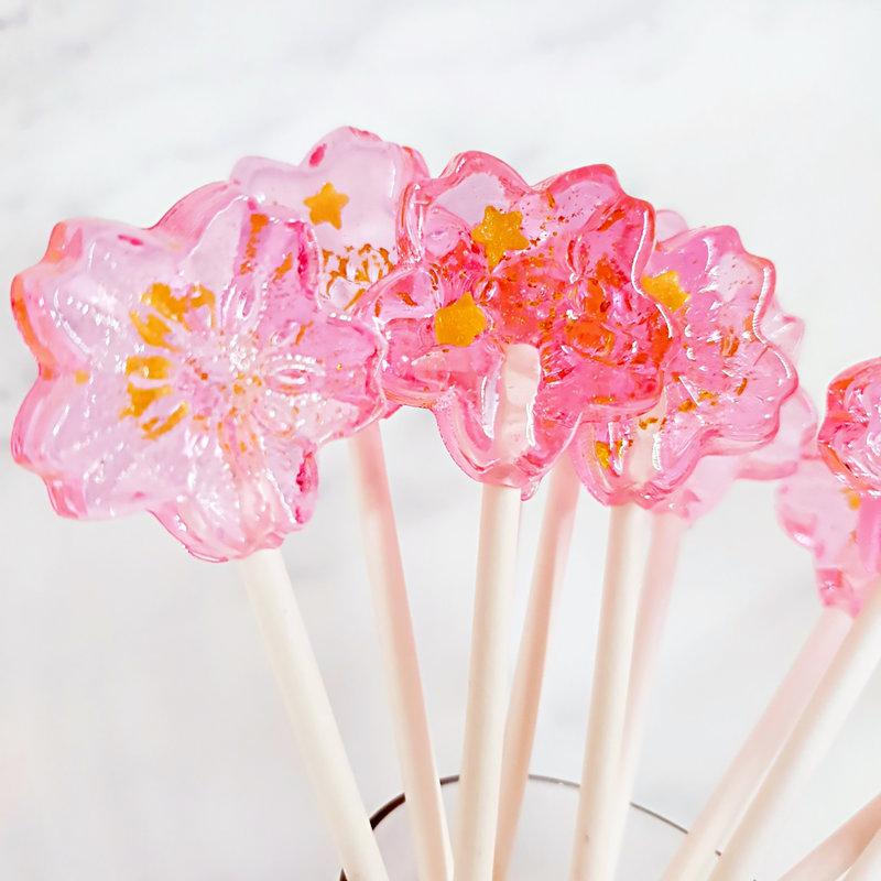 櫻花水晶糖作品