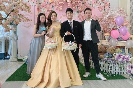 張&簡 訂結婚禮❤️