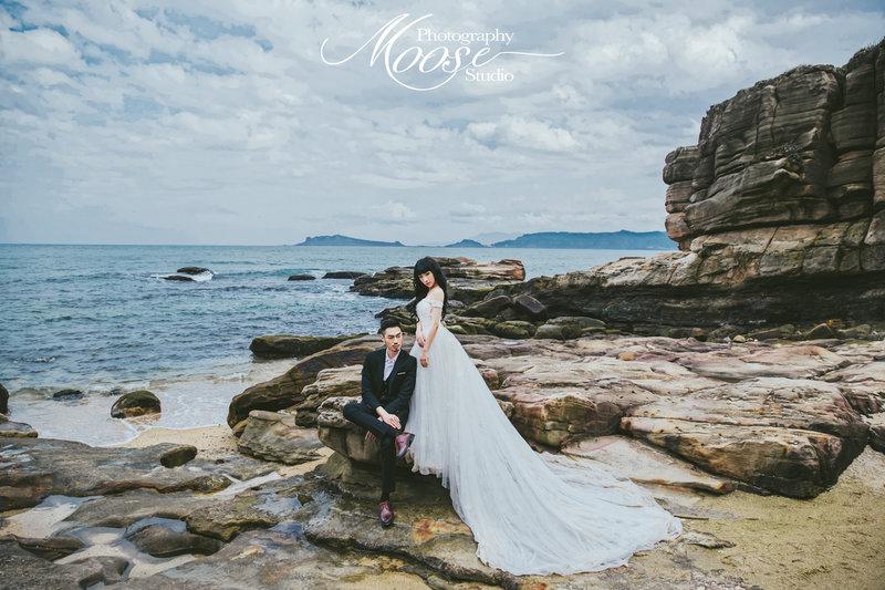 Moose wedding 麋鹿婚紗攝影