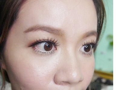 新秘涵涵han♥自然妝容眼型調整