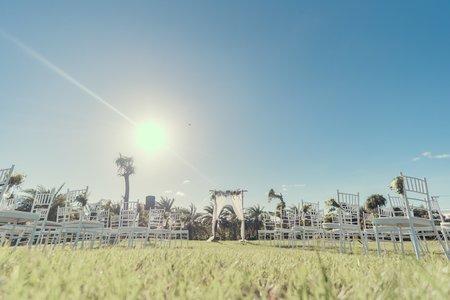 戶外草原婚禮收費項目