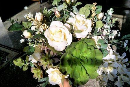 法式新娘捧花