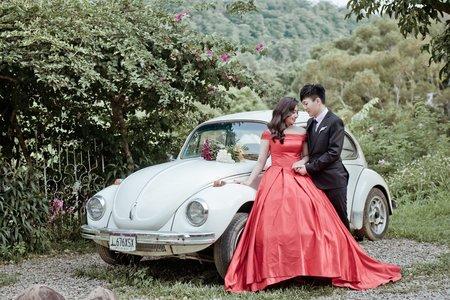 艾瑪婚紗 台中婚紗 可愛甜美風