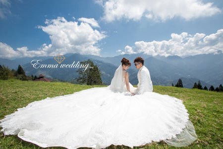 艾瑪婚紗 台中婚紗 清境 日月潭