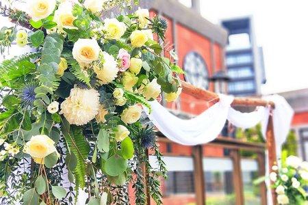 證婚儀式-木拱門