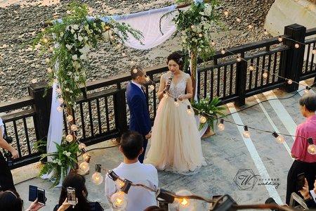 淡水LA VILLA--美式戶外婚禮