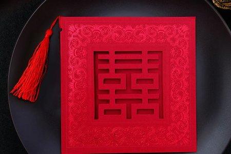 1010專業婚品 中國風 囍氣洋溢 流蘇