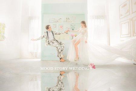 心情故事 ❘ 婚紗照 ❘ 幸福飄逸