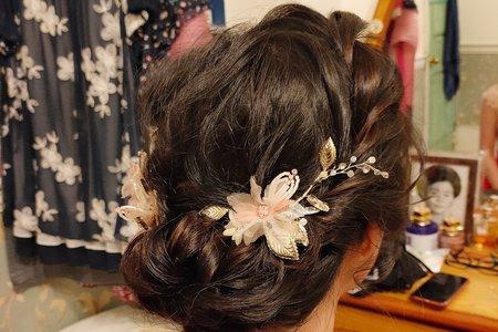 婚禮日單妝髮