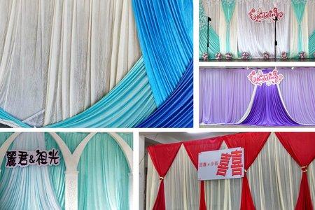 台東花蓮婚禮佈置(舞檯背景區)