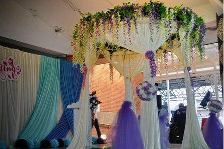 婚禮佈置|證婚亭