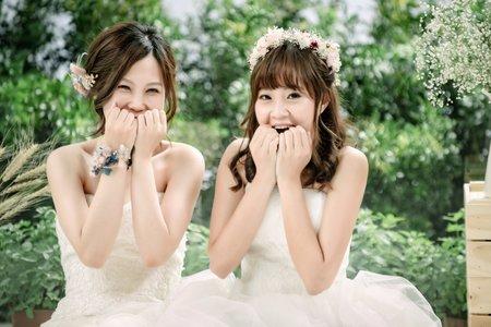 閨密婚紗2