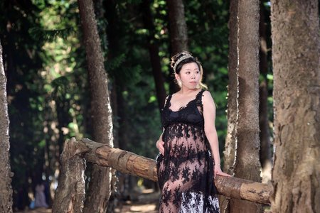 九天黑森林孕婦寫真