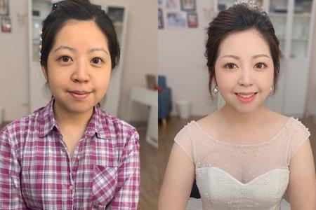 素人改造-韓系精緻妝容