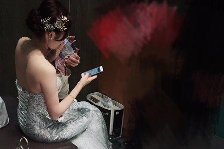 韓系典雅婚紗造型x宜泙
