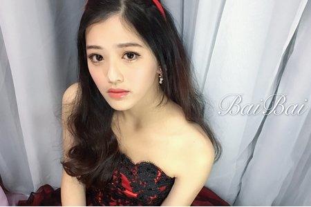 韓系婚紗造型x應景聖誕