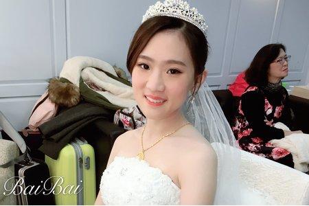 +婚禮造型現場x岱瑩+