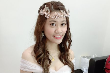 +婚禮造型x芳瑩+
