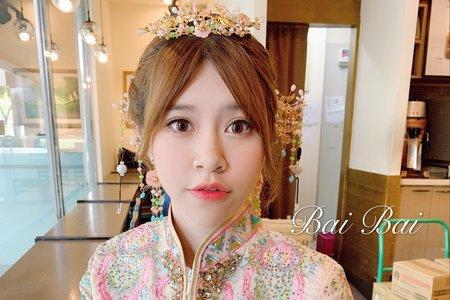 +中國風婚紗x秀禾服造型+