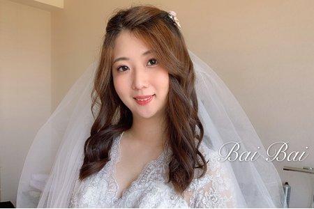 +婚禮現場韓系風格造型x淑琪+
