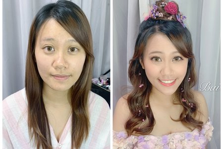 +森林系外拍婚紗x芳瑩+
