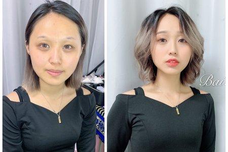 台中新秘白白+外拍造型+結婚造型/新娘秘書/新秘推薦/