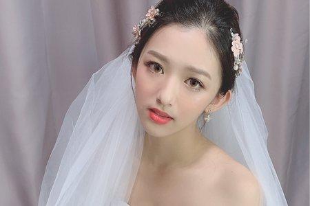 韓風新娘造型/油頭新娘造型x琪胭+結婚造型/新娘秘書/新秘推薦/
